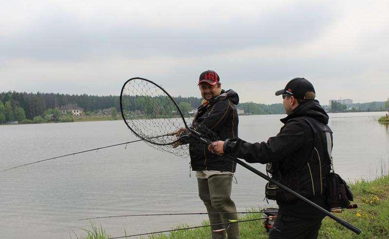 Рыбалка в ЗАО Гжелка 2015