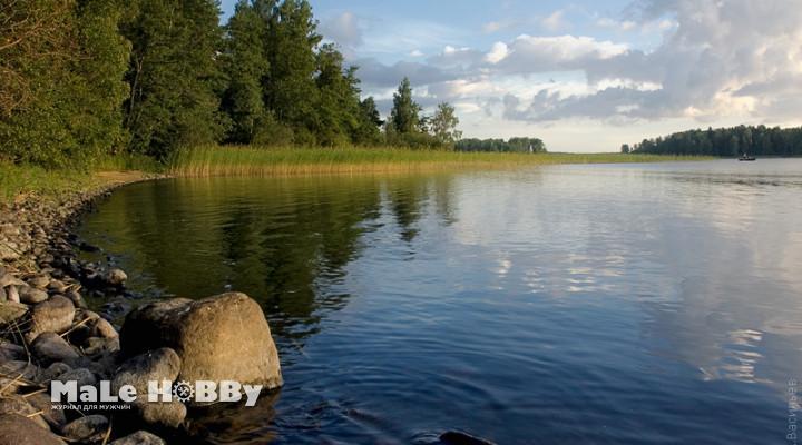 Рыбалка на озерах Ленинградской области 2015