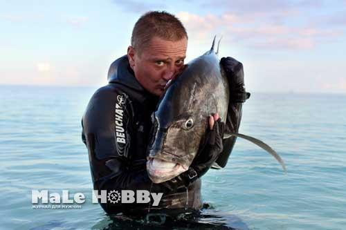 Подводная охота на Ладоге 2016