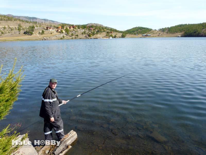видео рыбная ловля  возьми байкале летом