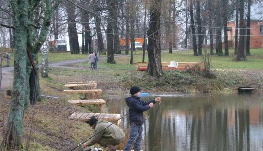 Рыбалка у Петровича в селе Ольгово
