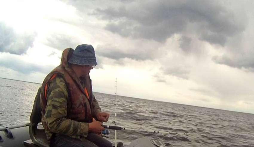 Рыбалка в Великом Новгороде