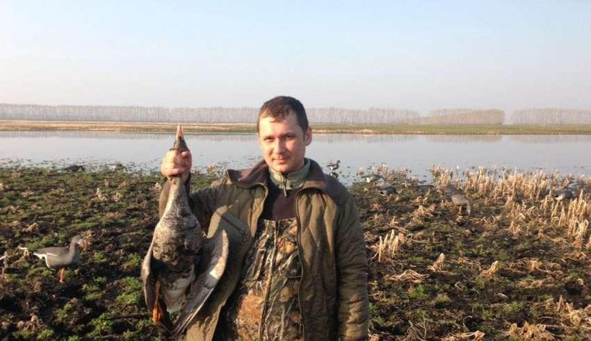 Охота на гуся в Тамбове и Тамбовской области 2017