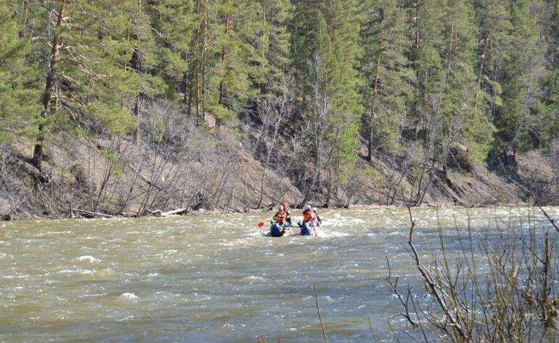 Отдых на реке Инзер 2015
