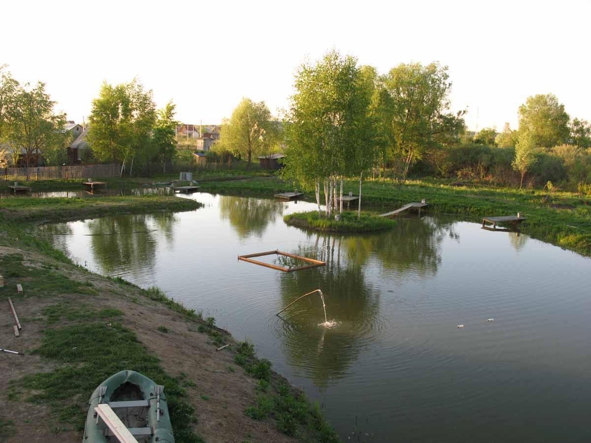 Как оформить платную рыбалку на пруду