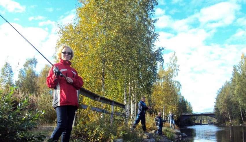 Рыбалка в Финляндии лето 2015