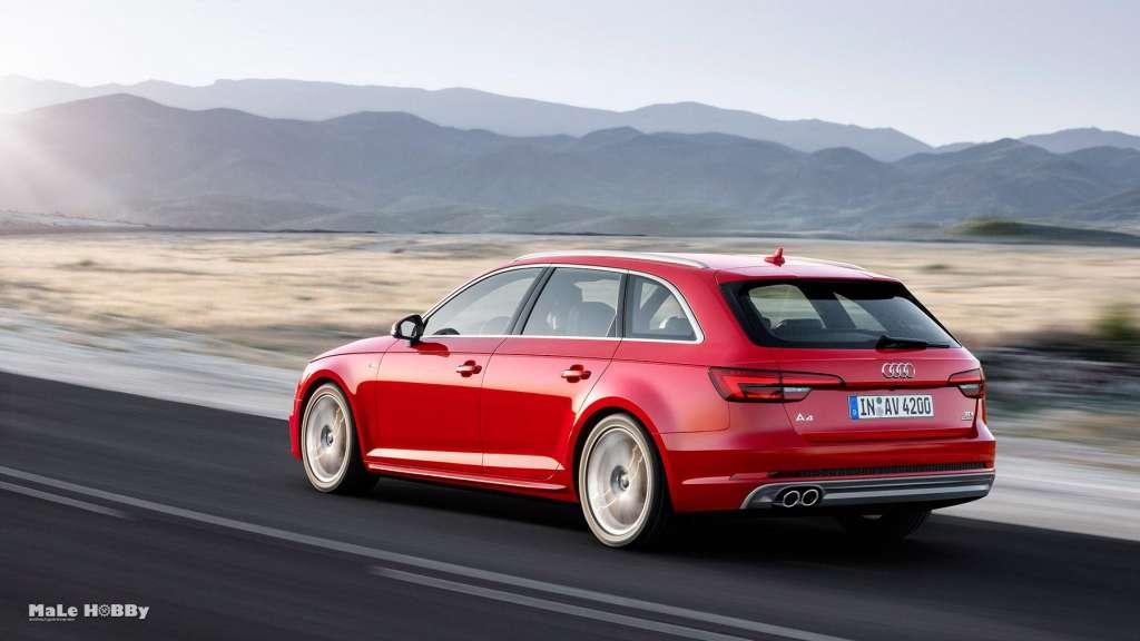 Новая Audi A4 2015-2016 года