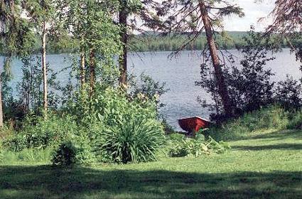 Рыбалка на озере Вартионлахти (Vartionlahti) в Финляндии 2015