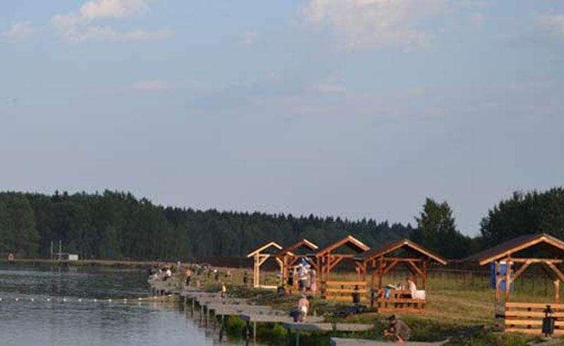 Рыбалка на 114 км Минского шоссе в рыболовном хозяйстве Юрково в 2015 году
