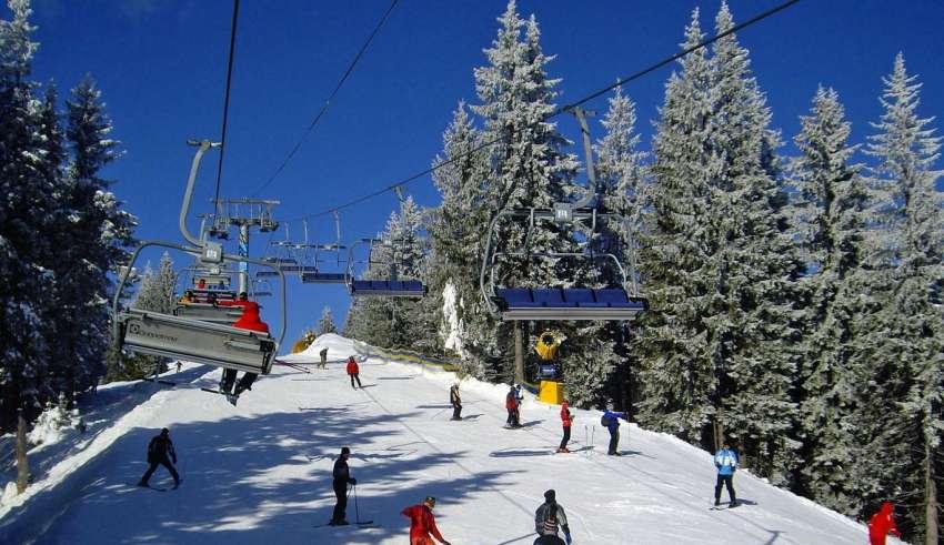 Отдых в Яблунице зимой 2015-2016