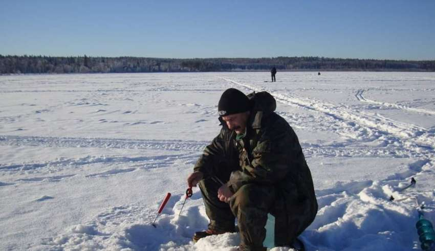 Зимняя рыбалка в Кемеровской области 2015-2016