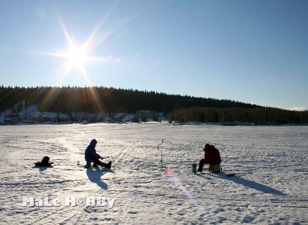 Зимняя рыбалка в Пермском крае 2015-2016