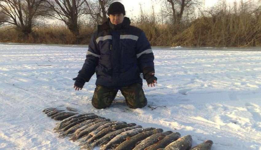 Зимняя рыбалка в Приморье 2015-2016