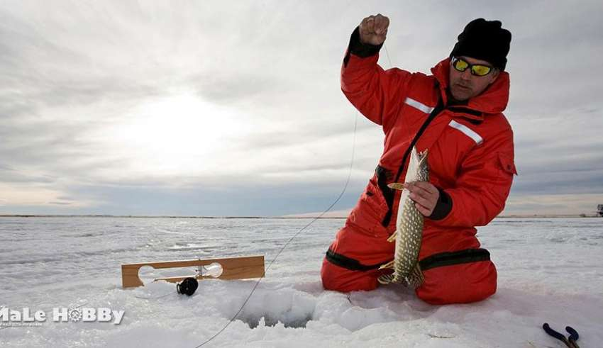 Зимняя рыбалка на Суре 2015-2016