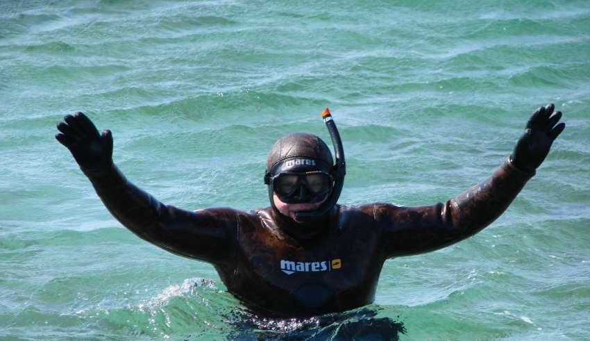 Подводная охота в Беларуси 2015