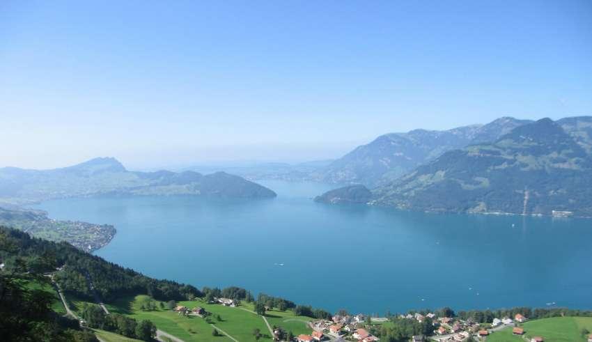 Отдых в Швейцарии летом на озерах 2015