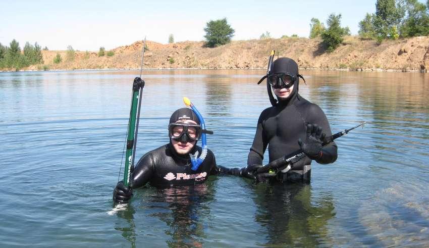 Подводная охота в Краснодарском крае 2016