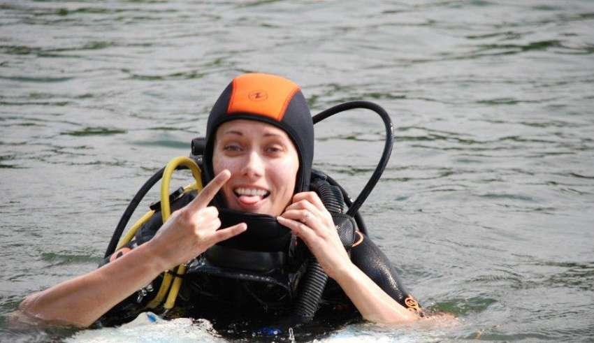 Подводная охота с аквалангом 2016