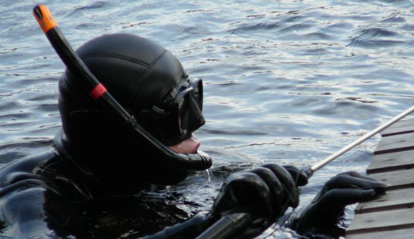 Подводная охота на Алтае 2016