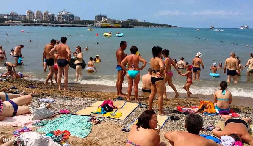 Отдых у моря в России с песчаным пляжем недорого 2015