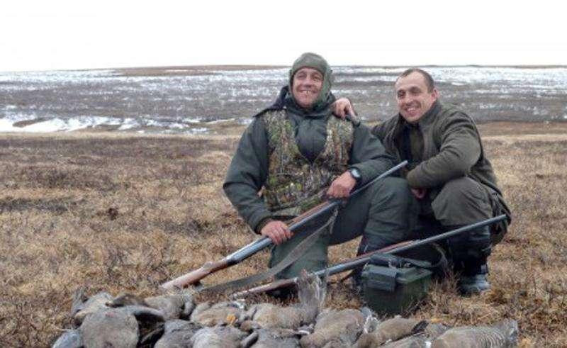 Охота в Коми 2015