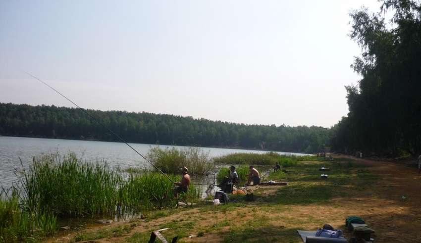 Рыбалка в Токарево