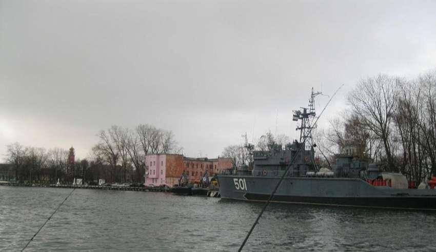 Рыбалка в Балтийске Калининградской области