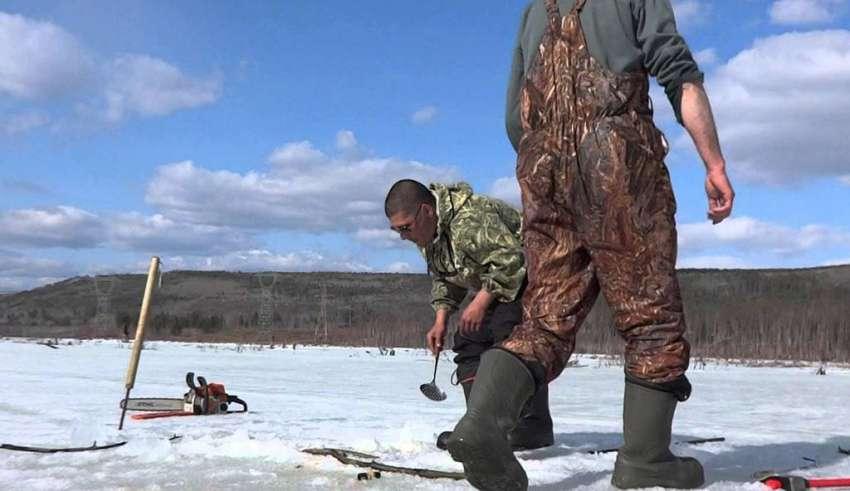 Рыбалка в Братске