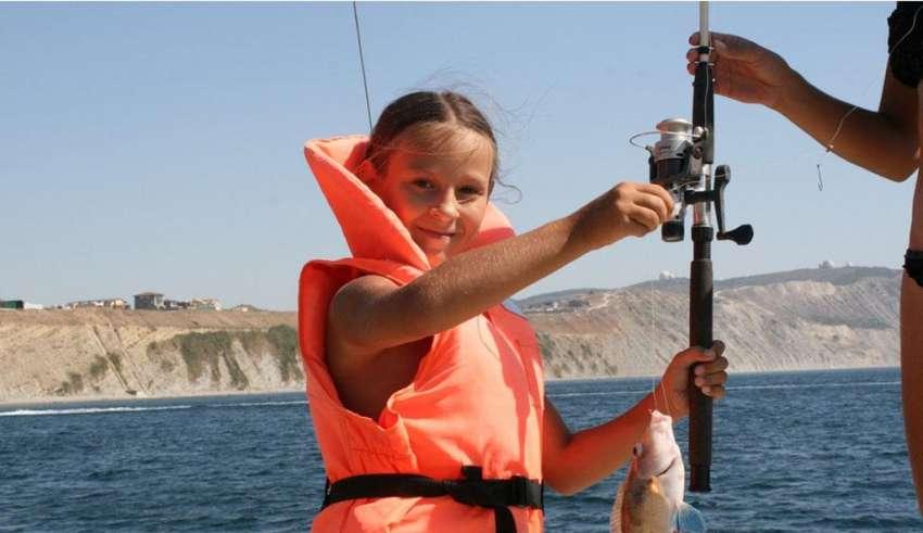 рыбалка в витязево с берега