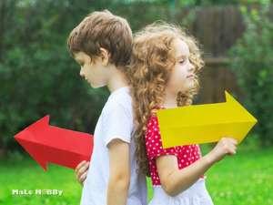 Как объяснить ребенку, где лево и правоКак объяснить ребенку, где лево и право