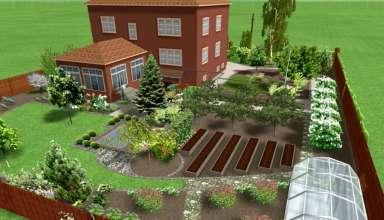 Программы для 3D моделирования и дизайна дачного участка