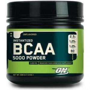BCAA Optimum Nutrition 5000 Powder - рейтинг БЦАА